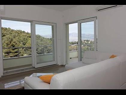 H(8+2): living room - 8223 H(8+2) - Splitska - Splitska - rentals