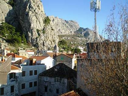 SA4(2+1): view - 00109OMIS SA4(2+1) - Omis - Central Dalmatia - rentals