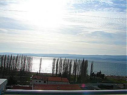 A1(2+2): terrace view - 00209OMIS A1(2+2) - Omis - Central Dalmatia - rentals