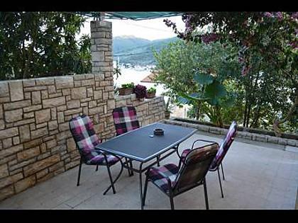 A1(2+2): terrace - 00214VLUK A1(2+2) - Cove Zubaca (Vela Luka) - Vela Luka - rentals