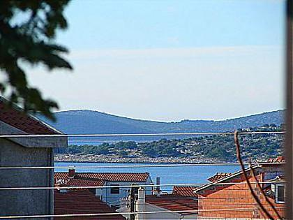 A2(4+1): terrace view - 00706VODI A2(4+1) - Vodice - Vodice - rentals