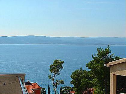 A2(4+1): sea view - 00213BREL A2(4+1) - Brela - Brela - rentals