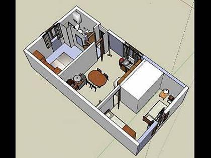 A1(4+1): floor plan - 00805BIOG A1(4+1) - Biograd - Biograd - rentals