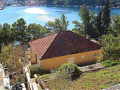 house - 01714VLUK A Dana(4+2) - Cove Zubaca (Vela Luka) - Vela Luka - rentals