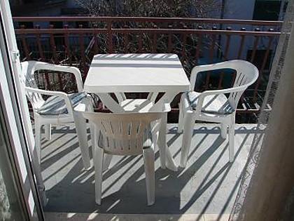 A1(2+1): terrace - 01506VODI A1(2+1) - Vodice - Vodice - rentals