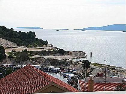 A1(2+2): terrace view - 00212OKRD  A1(2+2) - Okrug Donji - Okrug Donji - rentals