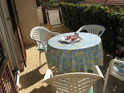 A1(2+2): terrace - 00809PISA A1(2+2) - Pisak - Pisak - rentals