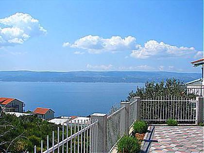 A1-donji mali(2+2): terrace view - 00509STAN  A1-donji mali(2+2) - Stanici - Stanici - rentals