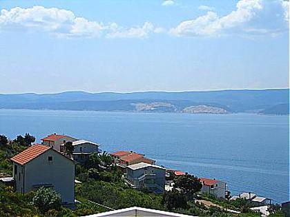 A2(4+2): terrace view - 00609STAN  A2(4+2) - Stanici - Stanici - rentals