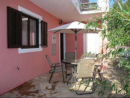 A2(7+1): terrace - 013-04-MAS A2(7+1) - Maslinica - Maslinica - rentals
