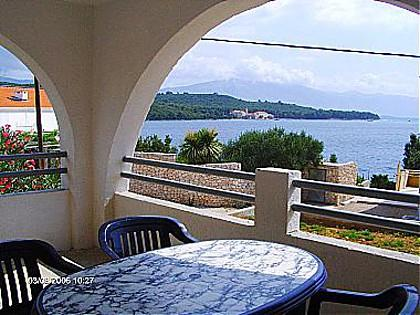 A1(2+1): covered terrace - 03714KORC A1(2+1) - Korcula - Korcula - rentals