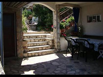 A1(6): terrace - 02106ROGO A1(6) - Rogoznica - Rogoznica - rentals