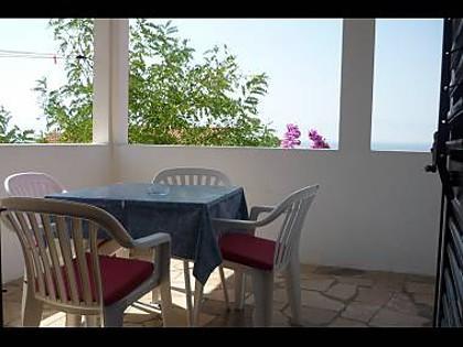 A2(4+2): terrace - 00113BRIS  A2(4+2) - Brist - Brist - rentals