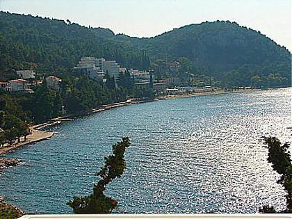 A3(2+1): terrace view - A00113ZIVO A3(2+1) - Zivogosce - Zivogosce - rentals