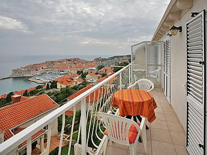 A2(2): terrace - 01016DUBR A2(2) - Dubrovnik - Dubrovnik - rentals