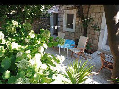 A1(4+1): garden terrace - 03216CAVT A1(4+1) - Cavtat - Cavtat - rentals