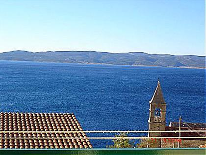 A3(2+1): balcony view - 00909PISA  A3(2+1) - Pisak - Pisak - rentals