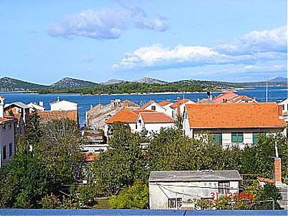 A3(2+1): terrace view - A00710MURT A3(2+1) - Murter - Murter - rentals
