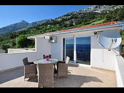 A4(2+2): terrace - 01409PISA A4(2+2) - Pisak - Pisak - rentals