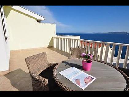 A5(4+1): terrace - 01409PISA A5(4+1) - Pisak - Pisak - rentals
