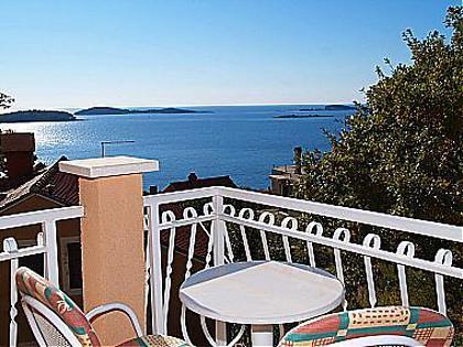 A6(2+2): terrace view - 00116PLAT  A6(2+2) - Plat - Plat - rentals