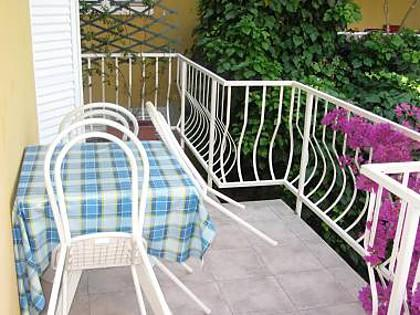 A1(2+1): covered terrace - 01817OREB A1(2+1) - Orebic - Orebic - rentals
