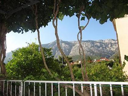 A2(2+2): terrace view - 01817OREB A2(2+2) - Orebic - Orebic - rentals