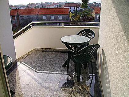 A4(3+1): balcony - 00318SUKO A4(3+1) - Sukosan - Sukosan - rentals