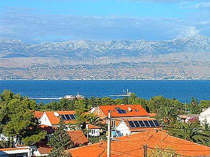 A1(6+1): terrace view - 00401SUPE  A1(6+1) - Supetar - Supetar - rentals