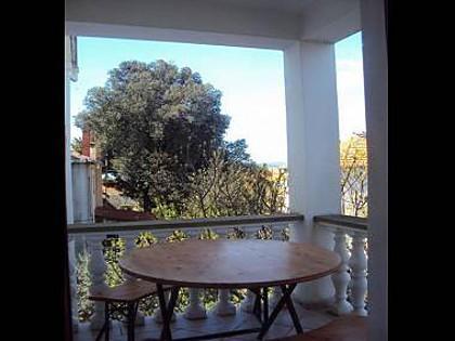 A1(5): terrace - 00518BIBI A1(5) - Bibinje - Bibinje - rentals