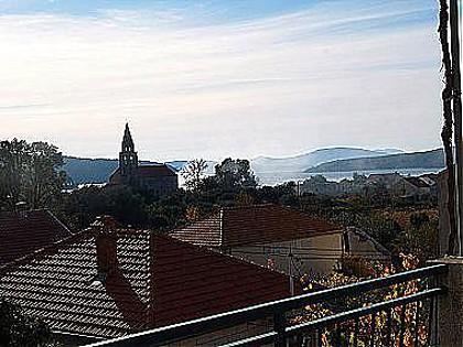 A1(4+2): terrace view - 00416SLAN A1(4+2) - Slano - Slano - rentals