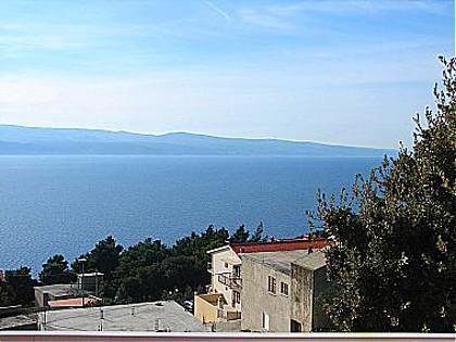 A3(2+4): terrace view - 01609STAN  A3(2+4) - Stanici - Stanici - rentals