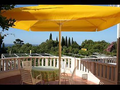 A5(3+1): terrace - 01316MLIN  A5(3+1) - Mlini - Mlini - rentals
