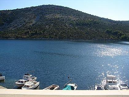A4(2+1): terrace view - 02107VINI  A4(2+1) - Vinisce - Vinisce - rentals