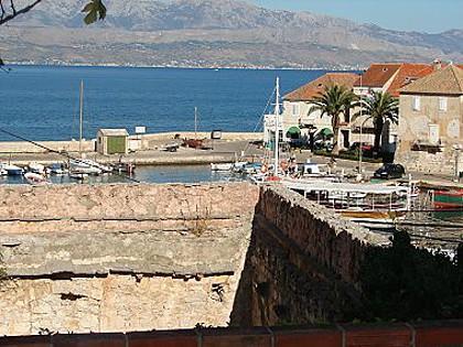 A2(4+1): terrace view - 01801SUTI  A2(4+1) - Sutivan - Sutivan - rentals