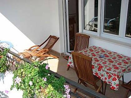 C1(2+2): terrace - 02613MAKA C1(2+2) - Makarska - Makarska - rentals