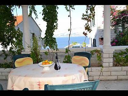 Nela 2(4): terrace - 04401POST Nela 2(4) - Postira - Postira - rentals