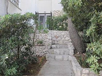 A1(4): courtyard - 07003HVAR A1(4) - Hvar - Hvar - rentals