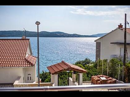 A3(2+2): terrace view - 001TROG A3(2+2) - Trogir - Trogir - rentals