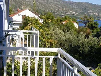 A3(4): terrace - 001OREB A3(4) - Orebic - Orebic - rentals