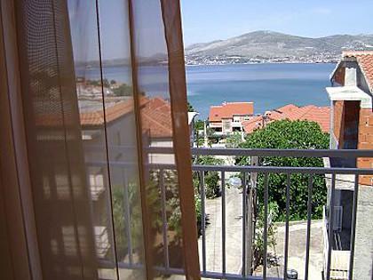 A2(4+1): balcony view - 001OKRG  A2(4+1) - Okrug Gornji - Okrug Gornji - rentals