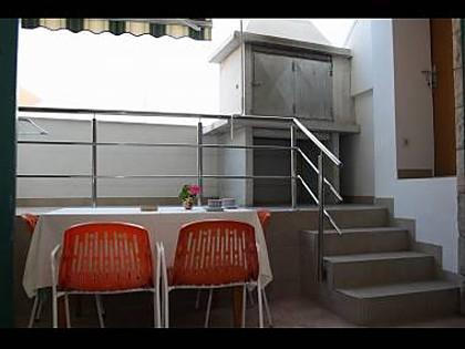 A5(2): terrace - 2489 A5(2) - Makarska - Makarska - rentals