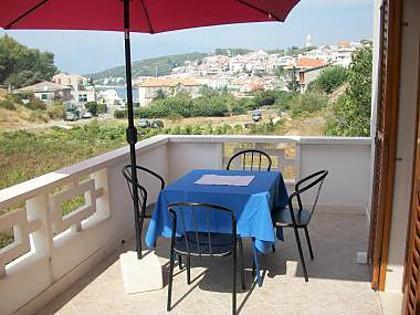 A1(2+2): terrace - 001POVL A1(2+2) - Povlja - Povlja - rentals