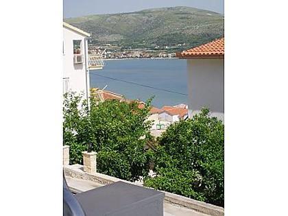 A1(2+2): terrace view - 001MAST  A1(2+2) - Mastrinka - Mastrinka - rentals