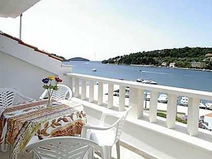 H(5+2): terrace view - 00714VLUK H(5+2) - Vela Luka - Vela Luka - rentals