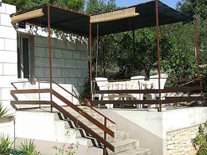 A1(4+1): terrace - 34979 A1(4+1) - Lumbarda - Lumbarda - rentals