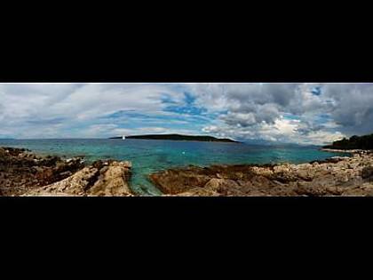 H(4+2): sea view (house and surroundings) - 001MILN H(4+2) - Cove Salbunara (Milna) - Cove Makarac (Milna) - rentals