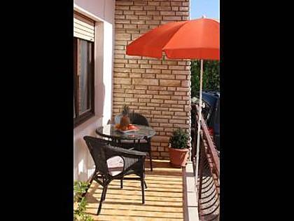 A1(2+2): covered terrace - 34985  A1(2+2) - Trogir - Trogir - rentals