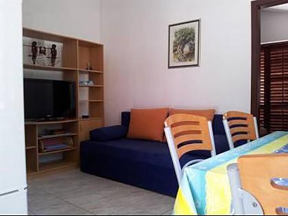 A1(2): living room - 00601MILN A1(2) - Cove Osibova (Milna) - Cove Osibova (Milna) - rentals
