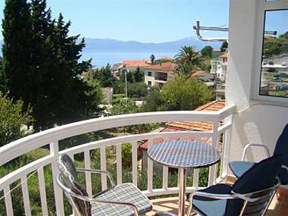 A4(2+2): terrace - 00513GRAD  A4(2+2) - Gradac - Gradac - rentals